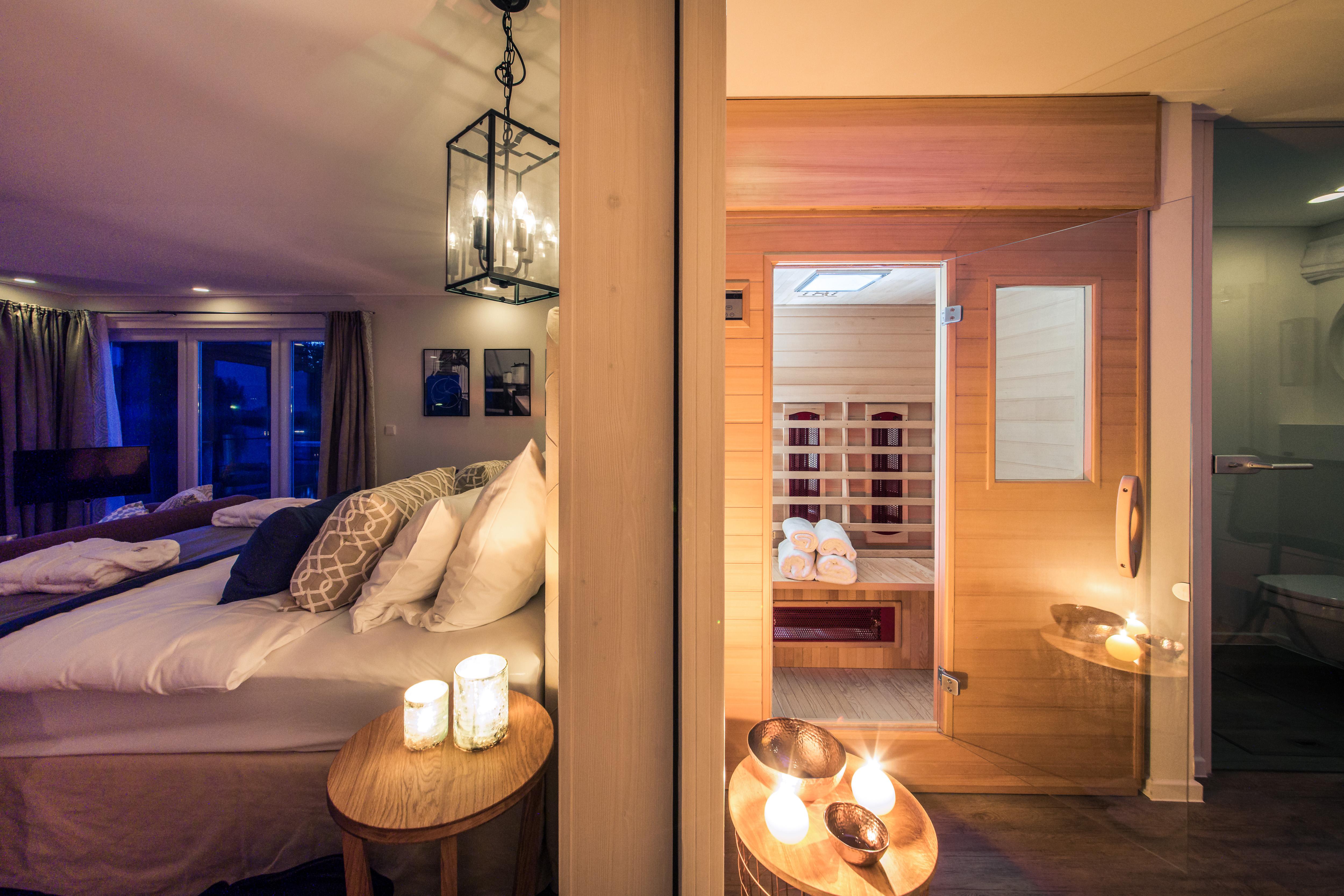 Sauna Suite – Spa-Bereich